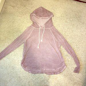 Lavender soft & sexy thin sweatshirt